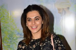 Taapsee Pannu starts shooting for 'Mulk'