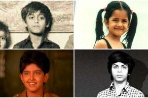 Can you recognise these Bollywood celebs from their childhood pics?