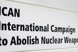 'Nobel Peace Prize' awarded to the anti-nuclear weapons group 'ICAN'