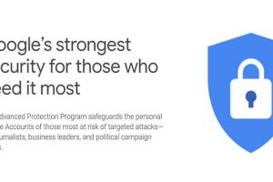 Google introduces Advanced Protection Programme strongest security key