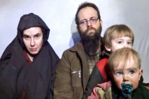 'Freed Taliban hostage family on way to Canada via UK'