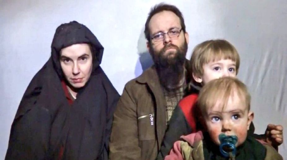 American family held hostage by Taliban.