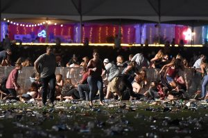 Las Vegas massacre survivor files lawsuit
