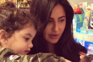Cuteness Alert: Katrina Kaif goes toy shopping with a baby