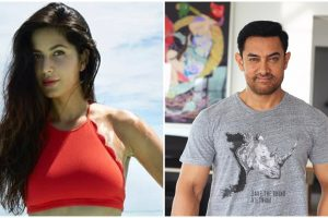 Is Katrina upset with Aamir Khan for giving priority to a newcomer over her?