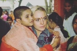 Lindsay Lohan reminisces about India visit on Diwali