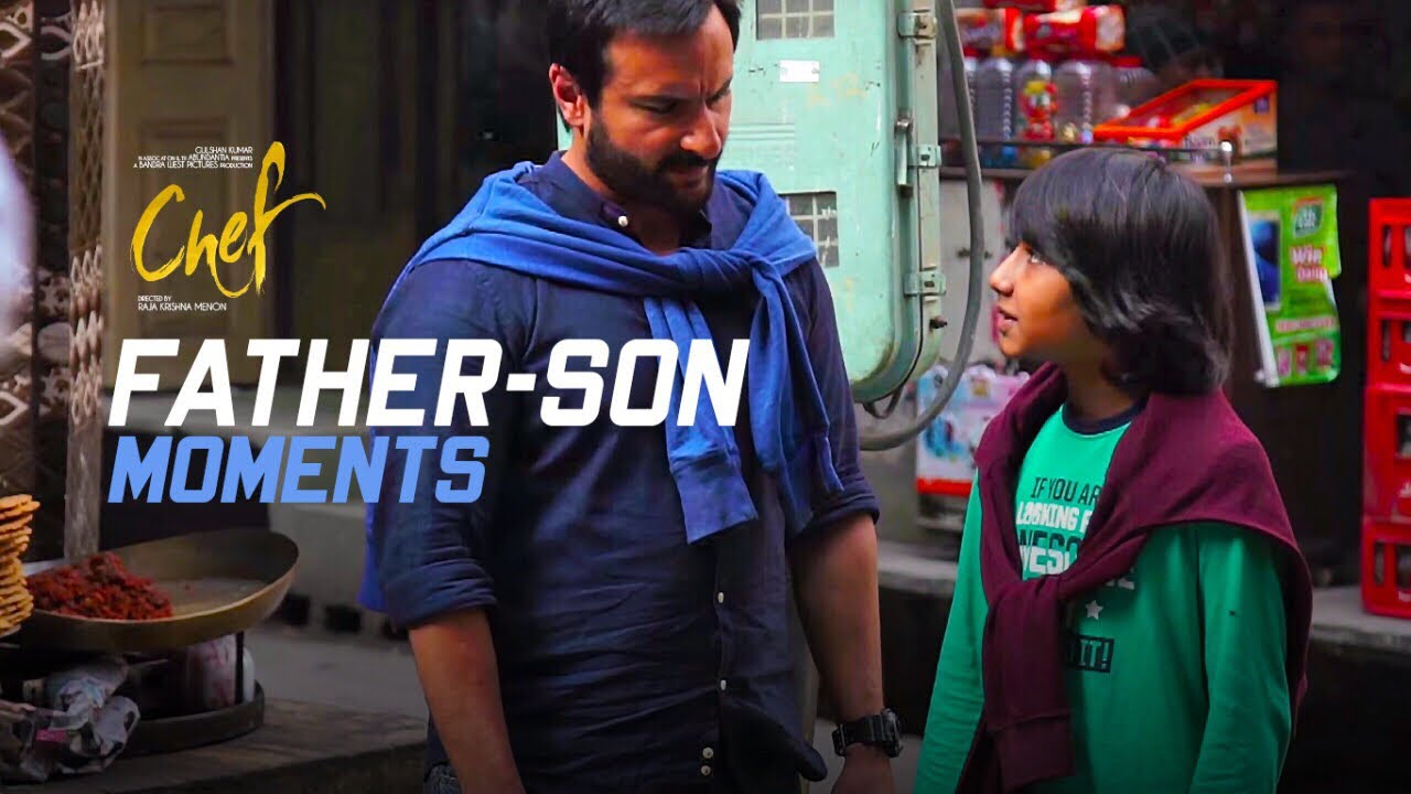 Making of Father-Son Moments | Chef
