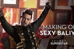 Making of Sexy Baliye | Secret Superstar | Aamir Khan