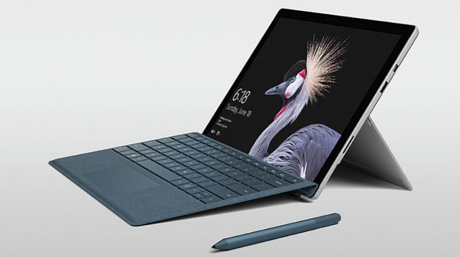 "Microsoft Surface Pro with ""PixelSense"" touch display now launched in India at Rs. 64,999"