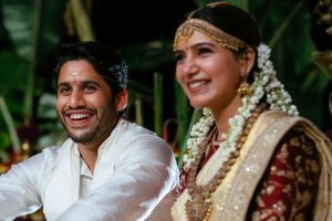 Celebrities wish Naga Chaitanya, Samantha a lifetime of happiness