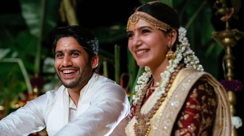 Celebrities wish Naga Chaitanya, Samantha a lifetime of happiness - The  Statesman