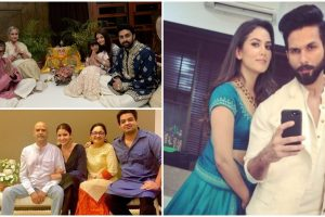 B-town celebs celebrate Diwali in style; see pics