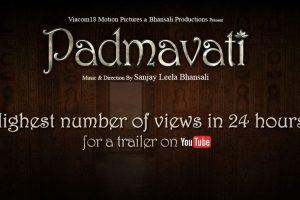 Padmavati's trailer makes a fresh record