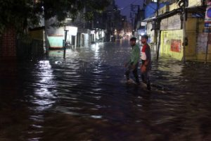 Heavy rains lash Hyderabad, three killed