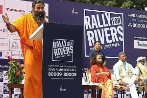 'Rally for Rivers' received well in Haridwar; Ramdev extends support