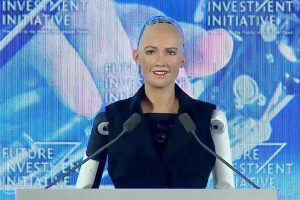 I am here to help humans live a better life: Sophia, the first robot citizen