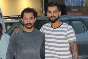 Virat Kohli desires to watch Aamir Khan's Secret Superstar before Sachin
