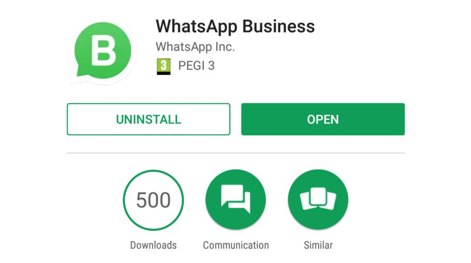 WhatsApp introduces standalone 'WhatsApp Business' app