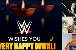 WWE wishes happy Diwali to Indian fans
