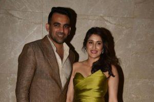 Sagarika, I support each other's career: Zaheer Khan