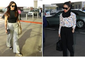 Of airport spotting and promotions: Kareena, Bhumi are trendsetters
