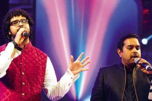 Shankar Mahadevan happy to perform with sons on 'MTV Unplugged'