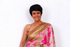 My son leads regular life, away from limelight: Mandira Bedi