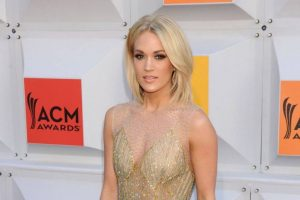 Carrie Underwood's face needed over 40 stitches after a fall at her house