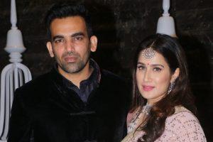 Sachin, Agarkar…Mumbai stars grace Zaheer & Sagarika's post-wedding bash
