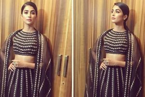 Pooja Hegde catwalks for a cause
