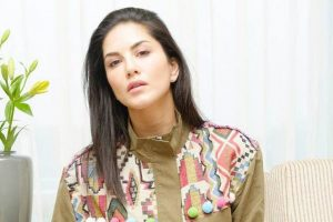 Sunny Leone promotes animal-free fashion