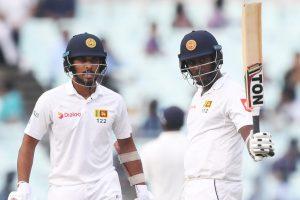 Kolkata Test: Fifties by Thirimanne, Mathews light up Eden Gardens