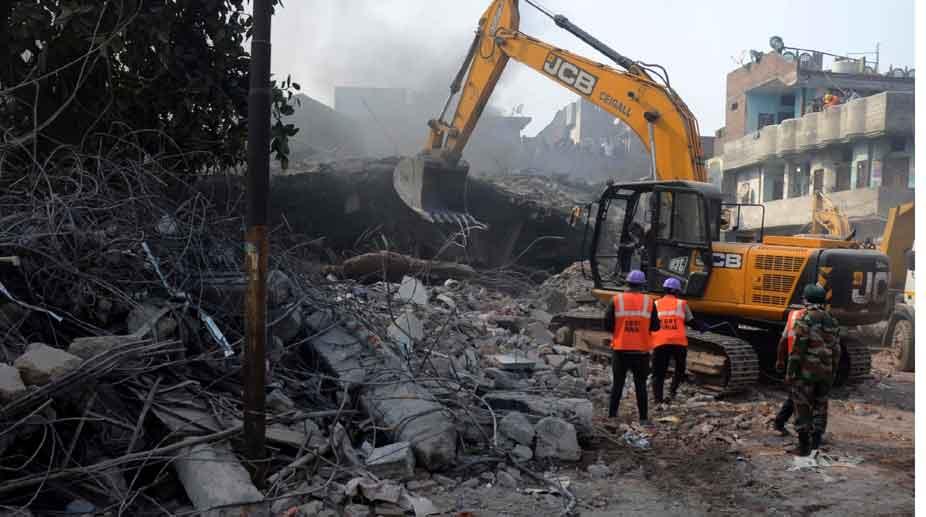 Ludhiana plastic factory collapse