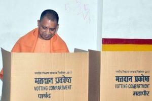 Uttar Pradesh civic polls: CM Yogi Adityanath casts his ballot