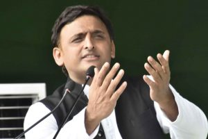 Akhilesh slams Yogi government over soaring crime