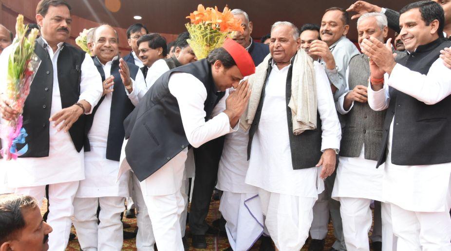 Akhilesh Yadav, Mulayam Singh Yadav, Samajwadi Party