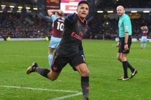Premier League: Alexis Sanchez penalty ensures Arsenal beat Burnley