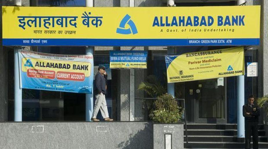 Allahabad Bank, Q1 losses