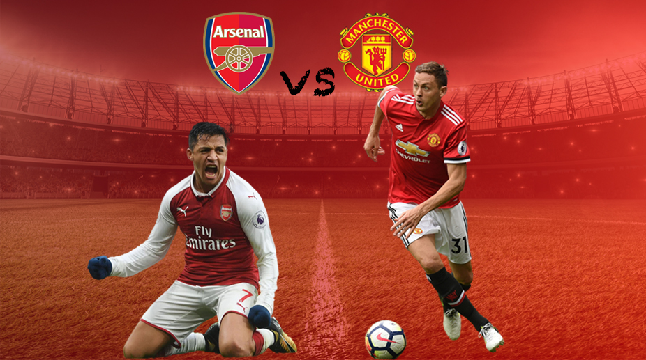 Arsenal F.C., Premier League, Manchester United F.C., Arsenal vs Manchester United, Alexis Sanchez, Nemanja Matic