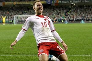 Denmark pound Ireland 5-1 to qualify for World Cup