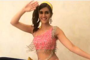 Kriti Sanon's fangirl moment for Madhuri Dixit