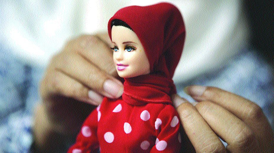 hijabi Barbies