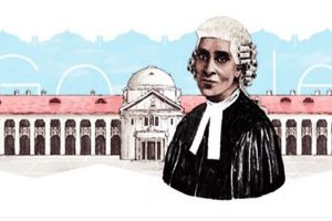 Google Doodle in honour of India's first woman advocate Cornelia Sorabji