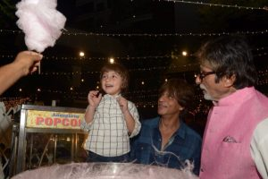 AbRam thinks Big B is SRK's 'papa'