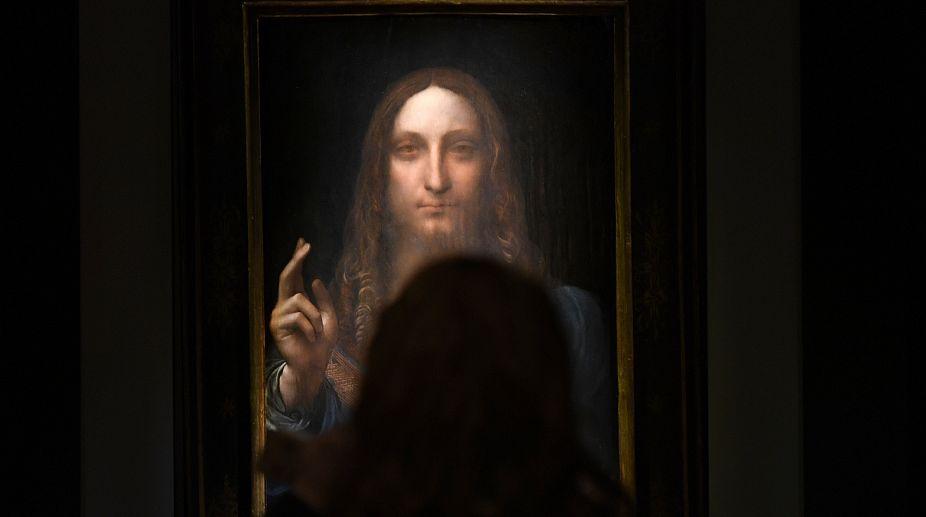 Leonardo Da Vinci, Auction, New York, Painting, Deal, Jesus Christ, Record