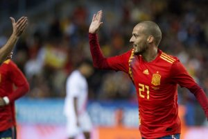 David Silva nets twice as Spain thrash Costa Rica 5-0 in football friendly