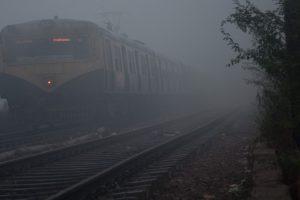 Misty Thursday morning in Delhi, 19 trains delayed