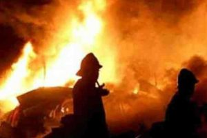 Fire at Navrang Studio in Mumbai's Lower Parel, fireman hurt