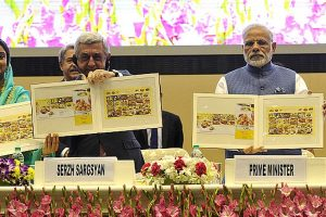 Modi flaunts 'ease of doing business' ranking to woo global investors