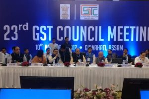 Second day of 23rd GST Council meeting gets underway in Guwahati